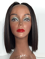 8а человеческих волос боб парик с волос младенца бразильские виргинские полный парик шнурка человеческих волос для черных женщин