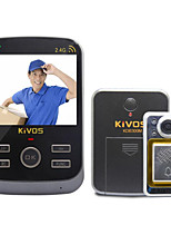KiVOS Intelligent Household Anti-Theft Doorbell Doorbell spyhole Visual Integrated Wireless Monitoring Camera KDB300M
