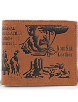 hombres clásicos carteras monedero billetera masculina tapa vendimia