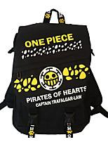 Cartoon One Piece Canvas Backpack