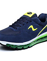 Men's Shoes Outdoor / Casual Suede Fashion Sneakers Black / Blue / Green / Multi-color / Orange