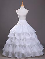 Slips(Polyester,Weiß) -100cm-5-A-Linie