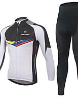 KEIYUEM ®Unisex Cycling Clothing  Long Sleeve Bike Spring / SummerWaterproof / Breathable / Quick Dry Waterproof