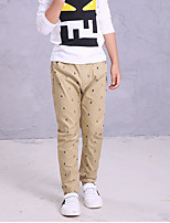 Boy's Casual/Daily Polka Dot Pants,Cotton Summer Blue / Yellow / Beige