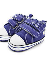 Baby Shoes Outdoor / Casual Canvas Fashion Sneakers Pink / Red / Navy