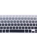 French Language AZERTY European version Silicone Keyboard Cover Skin for MacBook Air 13.3, MacBook Pro 13.3/15.4