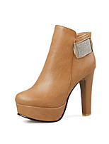 Women's Shoes  Heels / Fashion Boots Boots Outdoor / Office & Career / Casual Chunky Heel OthersBlack /  &199-2