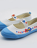 Girls' Shoes Casual Canvas Espadrilles Spring / Summer / Fall Comfort / Round Toe Flat Heel Gore Blue / Red