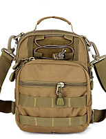 5 L Shoulder Bag Waterproof Army Green Canvas