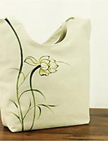 Women-Formal-PU-Shoulder Bag-Khaki