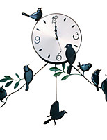 European Style Vintage Iron Wall Clock