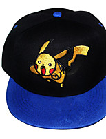 Pocket Little Monster Pika Pika Blue Black Cap