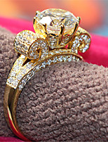 Never Fade 3CT Lord Ring Engagement Jewelry SONA Diamond Jewelry 18K Yellow Gold Plate Brilliant Silver 925 High Quality