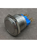 Industrial Supplies Chrome-Plated Brass Automatic Recovery Button Switch