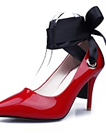 Women's Shoes Calf Hair Stiletto Heel Heels / Ankle Strap / Pointed Toe Heels Wedding / Party & Evening / Dress