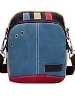 Women-Casual-Canvas-Shoulder Bag-Blue / Orange / Red