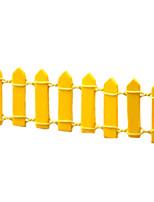 la résine minature clôture en pot petite maison place bureau de belles décorations (couleur aléatoire)