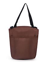 Women-Casual-Canvas-Shoulder Bag-Brown / Red / Fuchsia