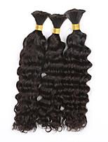 3pcs/lot Deep Curly Bulk Hair 12
