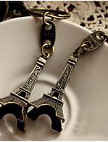 Retro Paris Eiffel Tower Keychain Car Key Ring Gift
