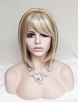 Europe And The United States Golden Mixture Color Hair Wig Ms BOBO 12 Inch