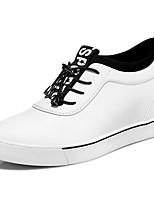 Da donna-Sneakers-Casual / Sportivo-Creepers-Piatto-Sintetico-Nero / Bianco