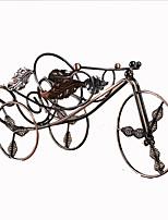 Bicycle Shape Cast Iron Wine Rack