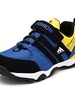 Per bambino-Sneakers-Casual-Comoda / Punta arrotondata / Chiusa-Piatto-Tulle / Finta pelle-Blu / Grigio / Arancione