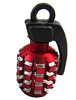2 stk bil personlighed dæk kasket aluminium ventil core cap