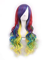 Pelucas Sinteticas Ombre Wig Pelucas Pelo Natural Synthetic Wigs Heat Resistant Perruque Cosplay Wigs Curly Peruca