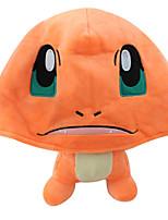 Hoed/Pet Pocket Monster Ash Ketchum Anime Cosplay Accessoires Oranje Corduroy