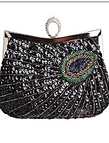 Women-Casual / Event/Party / Wedding-Glitter / Satin-Evening Bag-Blue / Black