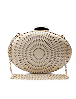 L.WEST Women's The Elliptical Hollow Out Embossed Evening Bag