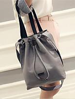 Women PU Casual / Outdoor Shoulder Bag White / Black