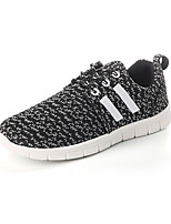Men's Shoes Canvas Outdoor / Casual Fashion Sneakers Outdoor / Casual Walking Flat Heel Lace-up Black / Blue / White