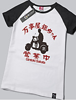 Inspired by Gintama Gintoki Sakata Anime Cotton T-shirt