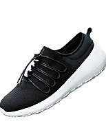 Men's Shoes Outdoor / Casual Tulle Fashion Sneakers Black / Blue / Red