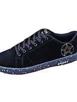 Men's Spring / Summer / Fall Comfort Fleece Casual Flat Heel Black / Blue / Gray Sneaker