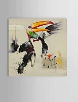 parrot play the piano Wall Art 100% handpainted abstract oil paintings on canvas Home decoration Ready to Hang