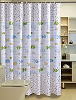 Cute Cartoon Pattern Shower Curtains W71