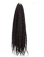Box Zöpfe Twist Braids Haarverlängerungen 18 inch Kanekalon 20 Strand 100g Gramm Haar Borten