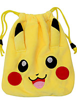 bolsa Pocket Monster PIKA PIKA Animé Accesorios Cosplay Amarillo Pana