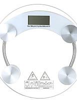 vidrio corporal saludable pérdida de peso precisa escala de peso electrónica