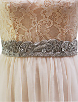 Elastik Tül Düğün Kuşak-Boncuklar / İmitasyon İnci Kadın 98 ½inç(250cm) Boncuklar / İmitasyon İnci