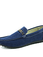 Men's Shoes Suede Casual Flats Casual Walking Flat Heel Others Black / Blue / Khaki