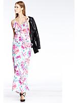 Heart Soul® Women's Strap Sleeveless Maxi Dress-11AA16346