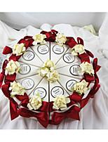 Geschenkboxen(Weiß,Kartonpapier) -Nicht personalisiert-Hochzeit / Jubliläum / Brautparty / Babyparty / Quinceañera & Der 16te Geburtstag