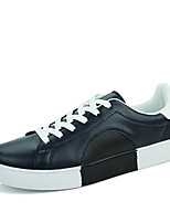 Men's Shoes PU Casual Sneakers Casual Sneaker Flat Heel Others Black / Blue / White
