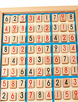 Wooden Sudoku Sudoku Game Logic Thinking Of Adult Children'S Educational Toys Games With Questions