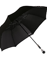 2016 New Fashion  Hot Selling Men's Business  Black Crystal Handle  2 Fold Umbrella